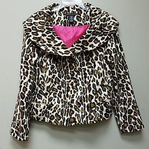 Soft Leopard Print Jacket